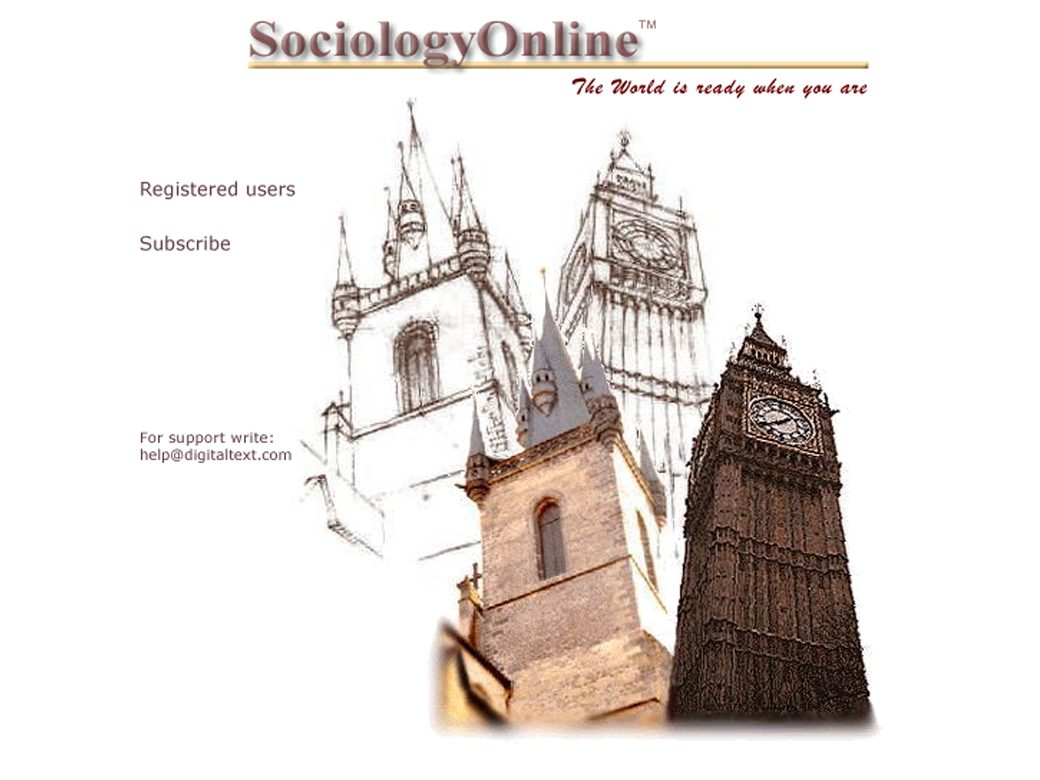 Sociology Online, Digital Text Plus