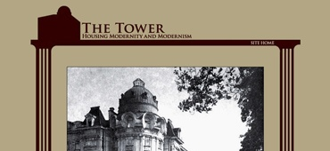 <a href='http://petersburg.berkeley.edu/ulla/ulla_splash.html'  target='_blank'><em>The Tower: Housing Modernity and Modernism</em></a> is one of the interconnected segments of <a href='http://petersburg.berkeley.edu' target='_blank'><em>Mapping Petersburg</em></a>, but it is a fully functioning website in its own right.<br><br> 								I authored the website design and its graphics, as well as the site implementation.